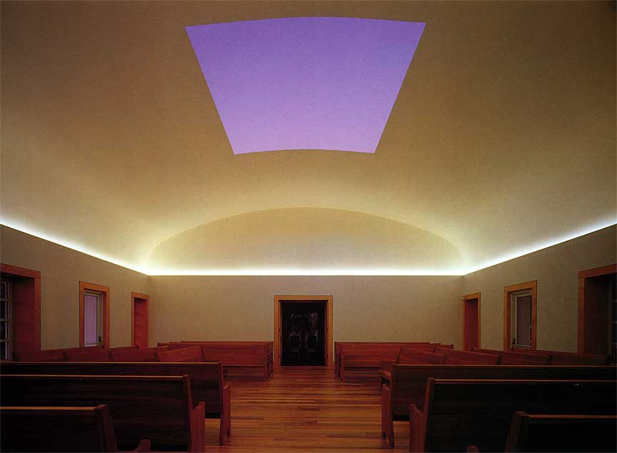 Live Oak Quaker Meeting House, by James Turrell