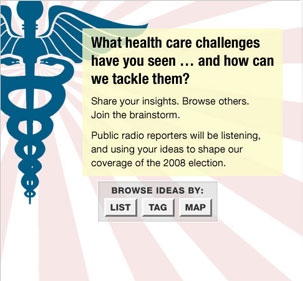 View The Health Care Idea Generator
