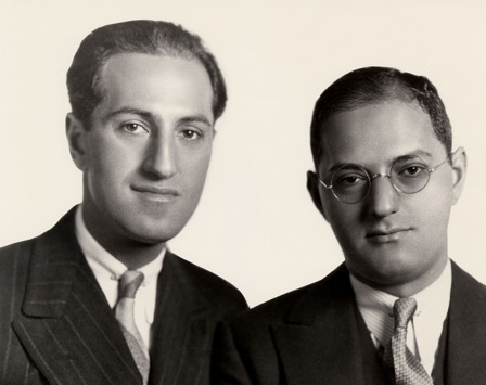 George and Ira Gershwin studio shot