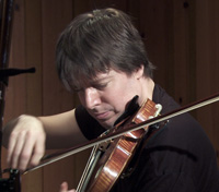 Joshua Bell playing violin