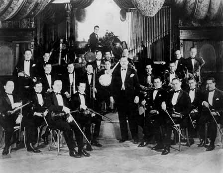 The Paul Whiteman Orchestra, circa 1924