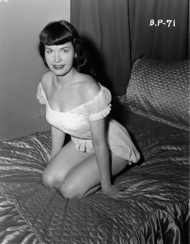 Bettie page aka betty page burlesque legend queen
