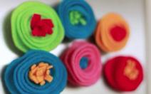 DIY Rose Magnets image
