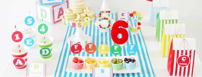 Plan an ABC easy as 123 party! image
