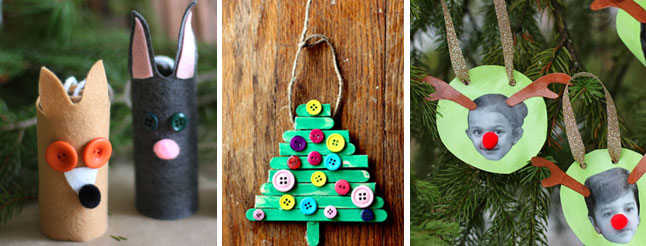 Cute and Easy DIY Christmas Ornaments  image