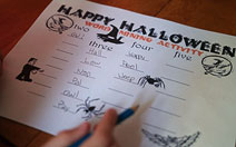 Halloween Word Mining image