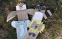 Paper Bag Animals image