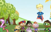 Super Why Letter Count image