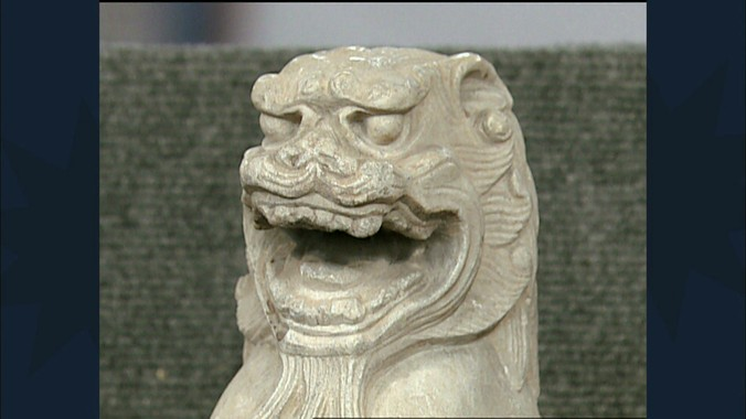 Tang Dynasty Marble Lion Antiques Roadshow Pbs