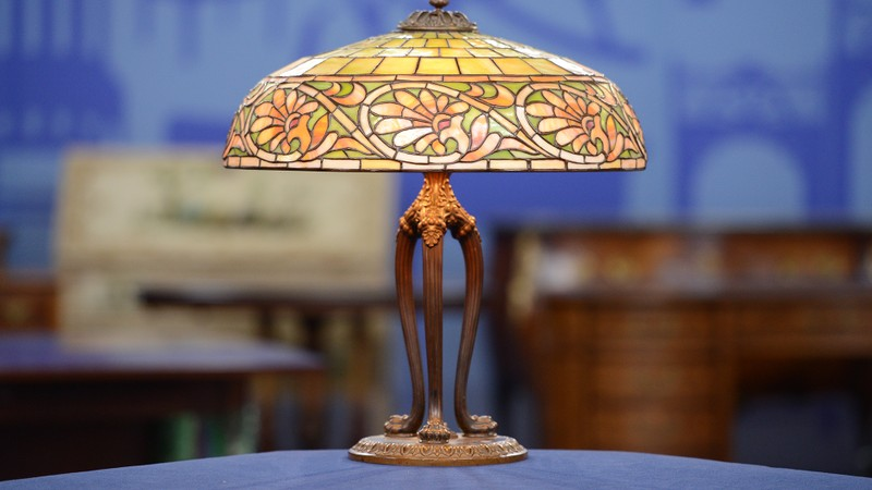 1906 duffner greek lamp
