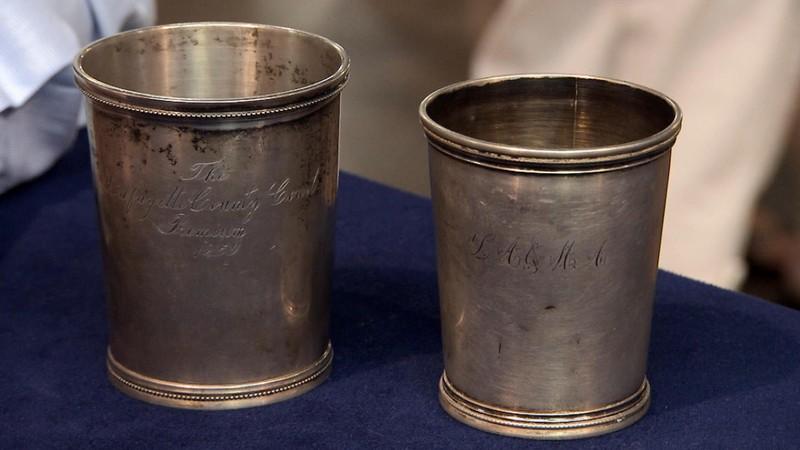 Louis Zur Megede Silver Mint Julep Cups Antiques