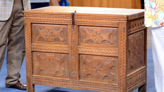 Early 19th Century Southwestern Blanket Chest Antiques