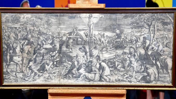 1589 Agostino Carracci Engraving Antiques Roadshow Pbs