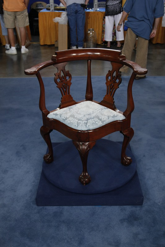 N.Y. Chippendale Corner Chair, ca. 1760 | Antiques ...