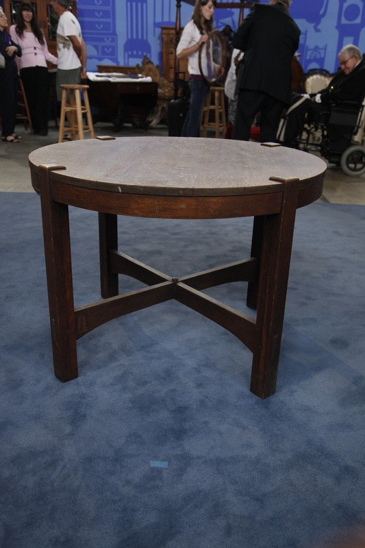 Gustav Stickley Library Table Ca 1904 Antiques