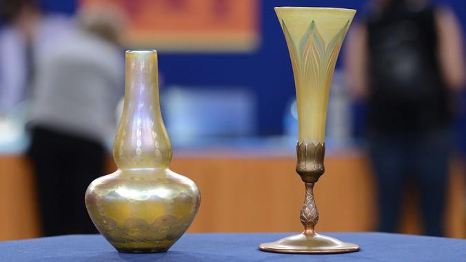 Tiffany Glass Vases Antiques Roadshow Pbs