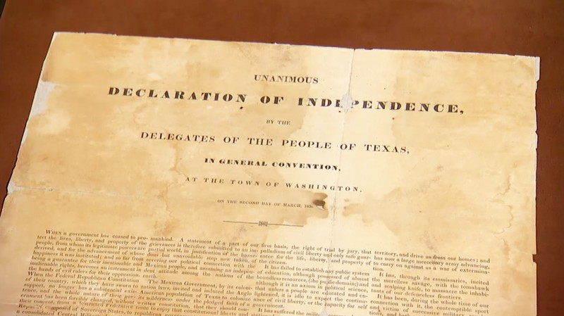 Field Trip: Real & Fake Texas Declaration of Independence ...