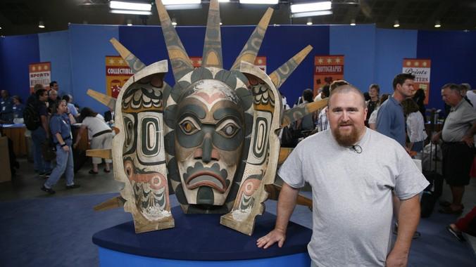 Kwakiutl-Style Transformation Mask | Antiques Roadshow | PBS