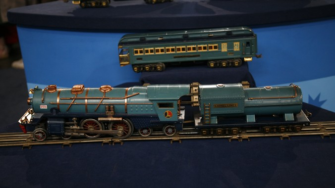 Lionel Blue Comet Train Ca 1935