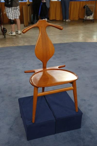 1 of 1 - Hans Wegner Designed Mid-Century Valet Chair Antiques Roadshow PBS