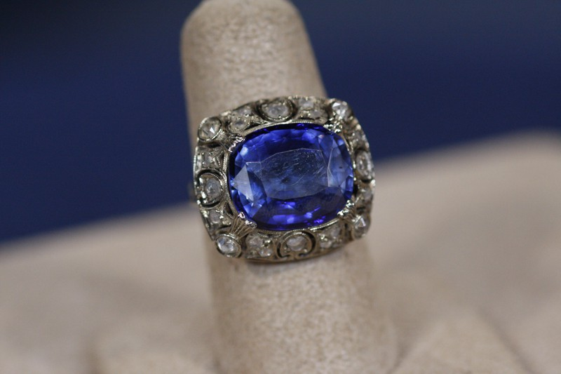 20th Century Sapphire Amp Diamond Ring Antiques Roadshow Pbs