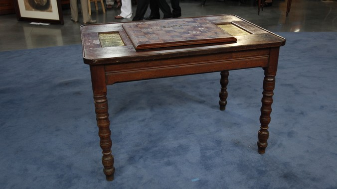 New Orleans Chess Table Ca 1870 Antiques Roadshow Pbs
