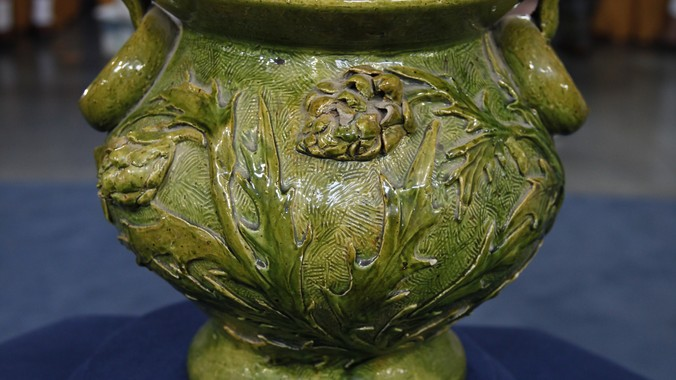 New Orleans Art Pottery Jardinière, ca. 1886 | Antiques ...