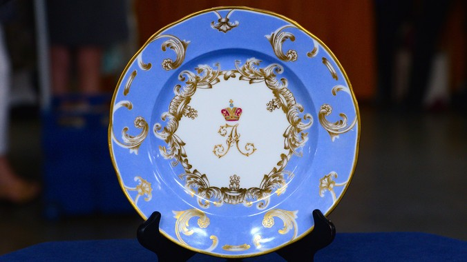 Read Appraisal Transcript & 1892 Alexander III Russian Imperial Plate | Antiques Roadshow | PBS