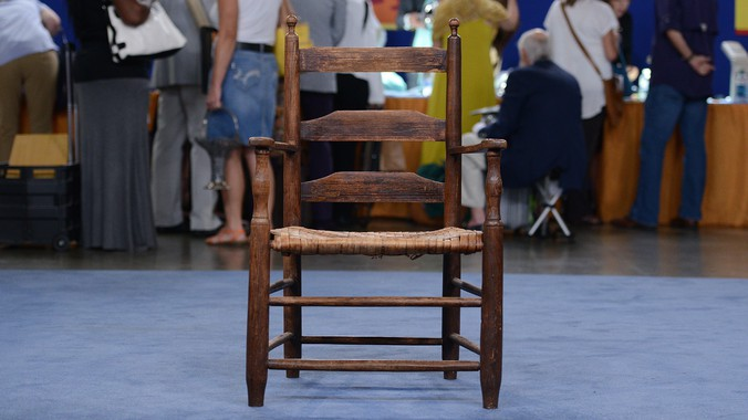 Read Appraisal Transcript - Southern Ladderback Chair, Ca. 1795 Antiques Roadshow PBS