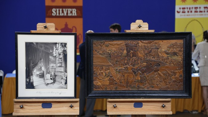 Italian Carved Door Panels, Ca. 1550   Antiques Roadshow   PBS