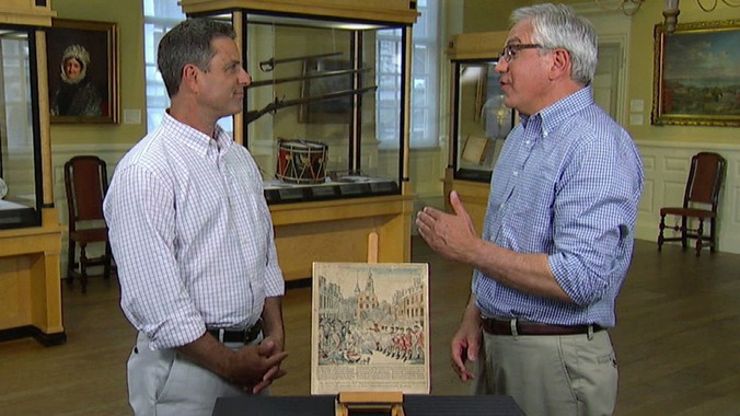 paul revere boston massacre print antiques roadshow pbs