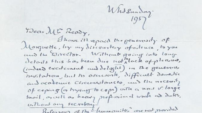 1957 J R R Tolkien Letter Antiques Roadshow Pbs