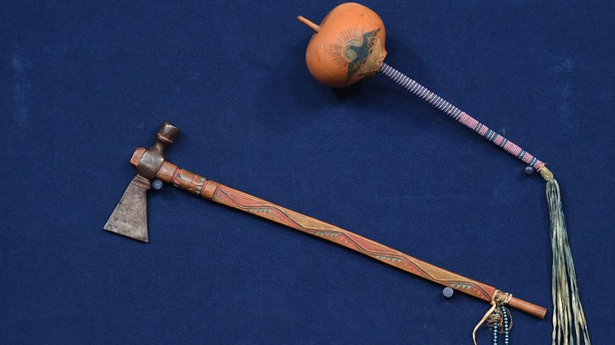 Kiowa Pipe Tomahawk & Rattle, ca  1880 | Antiques Roadshow | PBS