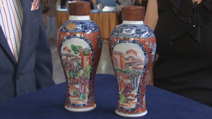 Qing Dynasty Chinese Vases Ca 1785 Antiques Roadshow Pbs