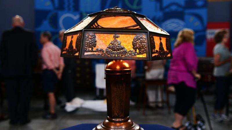 Limbert Co Arts Amp Crafts Lamp Ca 1915 Antiques