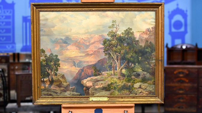 1913 Thomas Moran Chromolithograph | Antiques Roadshow | PBS