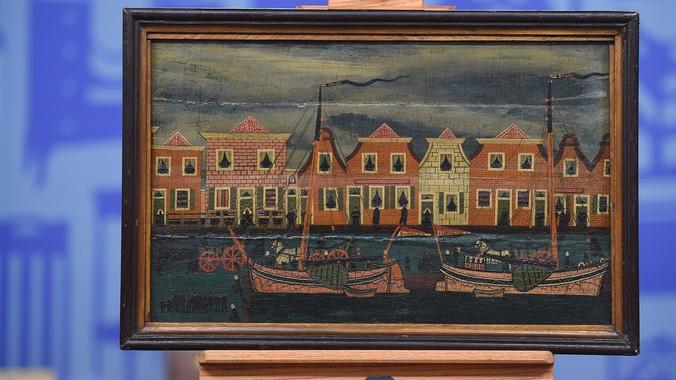 19th-Century Dutch Folk Art Painting | Antiques Roadshow | PBS