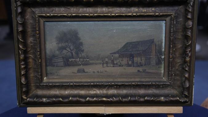William Aiken Walker Landscape Oil Painting Ca 1890