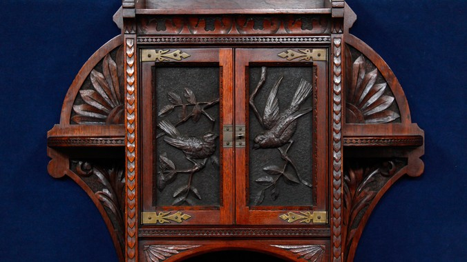 Read Appraisal Transcript - 1884 Cincinnati-Carved Curio Cabinet Antiques Roadshow PBS