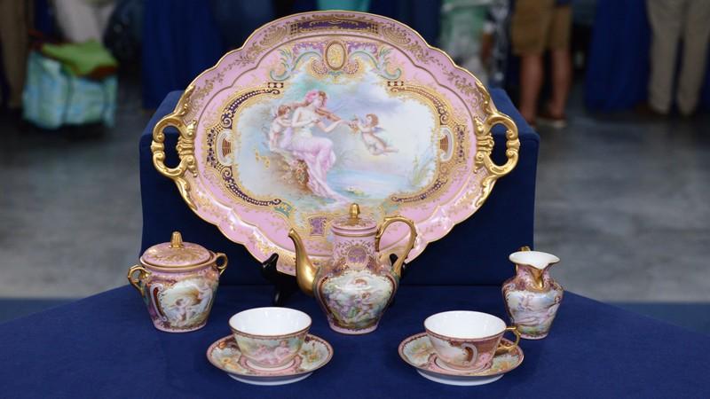 Porcelain Cabaret Coffee Set Ca 1900 Antiques Roadshow