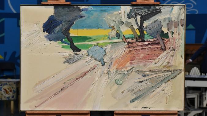 1964 Manoucher Yektai Oil Painting | Antiques Roadshow | PBS