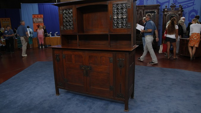 English Arts Amp Crafts Sideboard Attributed To Leonard