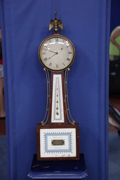 Simon Willard Banjo Clock Ca 1805 Antiques Roadshow Pbs