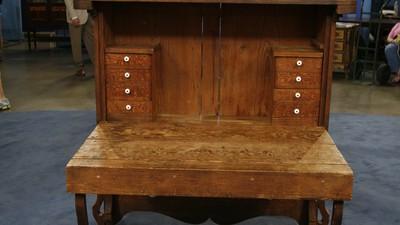 Texas Fall-Front Desk, ca. 1860 - Appraisals Antiques Roadshow PBS