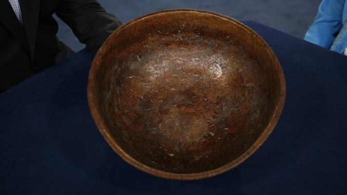 Turning Burl Bowls Turned Ash Burl Bowl ca 1820