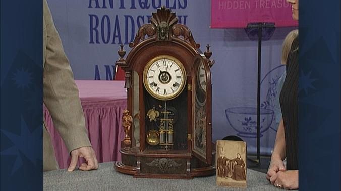 Antique ansonia mantel clocks