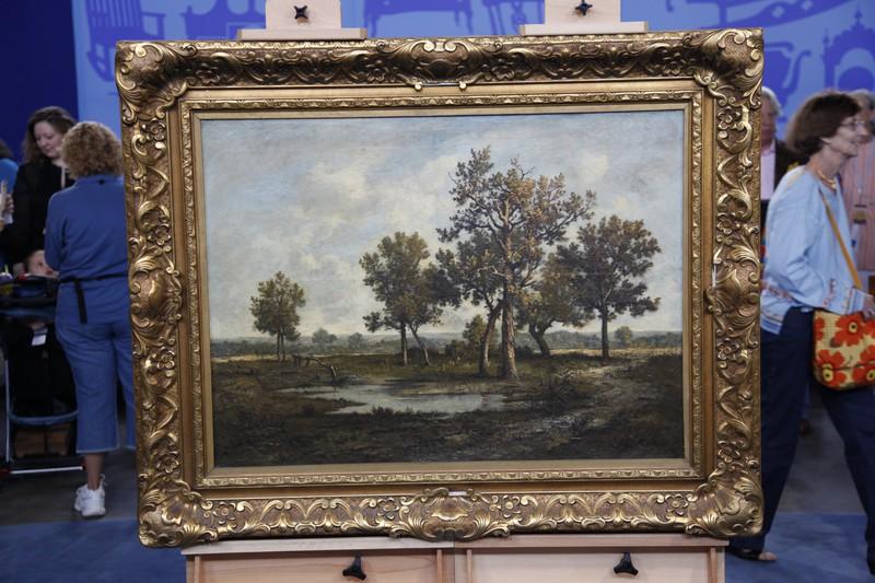 Léon Richet Oil Painting, ca. 1875 | Antiques Roadshow | PBS