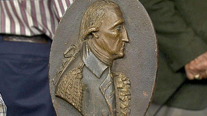Samuel Mcintire Medallion Antiques Roadshow Pbs