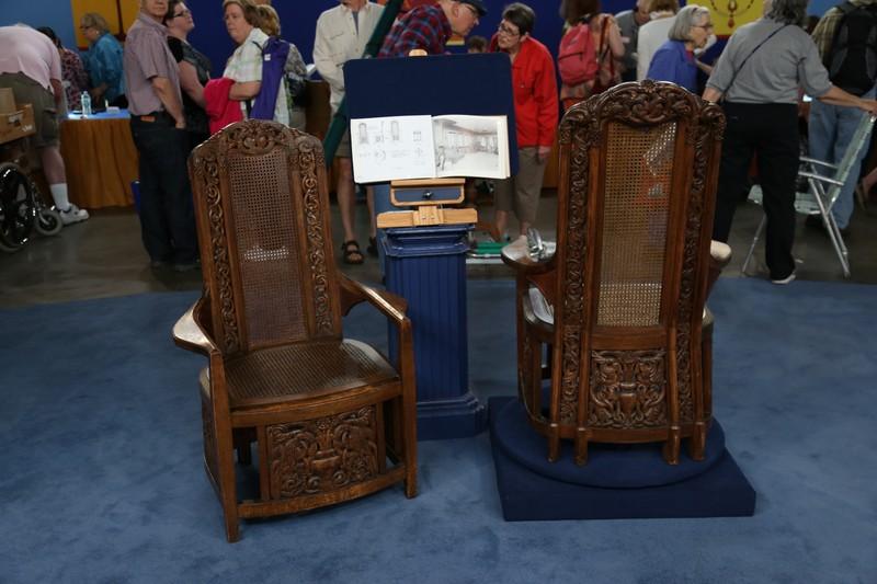Bon 1917 Leonard Willeke Designed Arm Chairs
