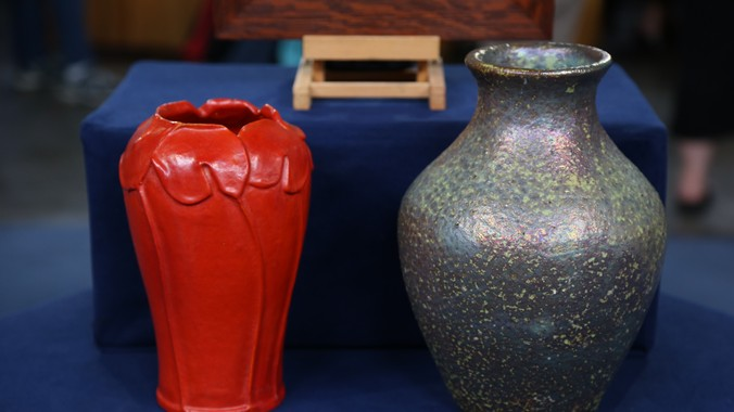 Early 20th Century Pewabic Pottery Collection Antiques Roadshow Pbs